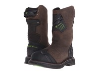Ariat Catalyst Vx Work Waterproof Composite Wide Square Toe H2o Bruin Brown Cowboy Boots