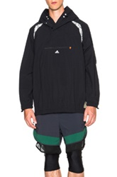 Adidas X Kolor Anorak Jacket In Black