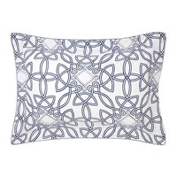 Yves Delorme Entrela Pillowcase Set Of 2 Marine 50X75cm