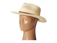 Tommy Bahama Panama Vent Outback With Web Band X Natural Caps Beige