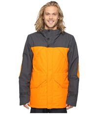 O'neill Tanzing Jacket Exuberance Men's Coat Orange