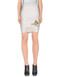 Ean 13 Skirts Knee Length Skirts Women White