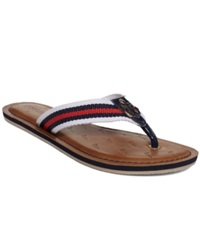 Nautica Gulf Breeze 1 Flip Flops Women's Shoes J Navy Anchor