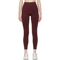 Lndr Burgundy Blackout Leggings