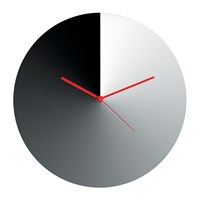 Alessi Arris Wall Clock Stainless Steel