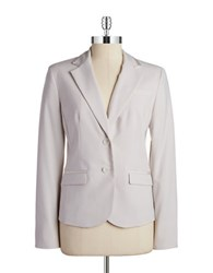 Jones New York Petite The Olivia Two Button Blazer Oyster