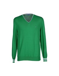 Harmontandblaine Knitwear Jumpers Men Green