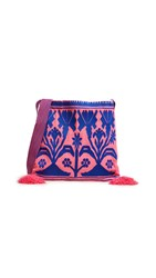 Star Mela Elva Pouch Cross Body Bag Pink Blue