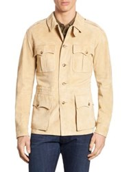 Polo Ralph Lauren Suede Safari Jacket Light Honey