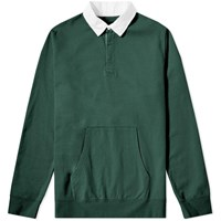 Beams Plus Rugby Sweat Green