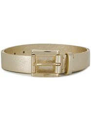 P.A.R.O.S.H. Square Buckle Belt Gold