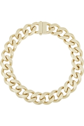 Givenchy Gourmette Gold Tone Chain Necklace