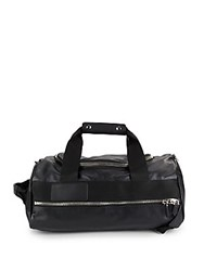 Givenchy Solid Leather Duffel Bag Black