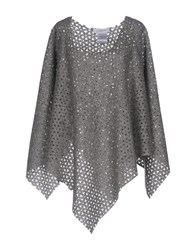 Cristinaeffe Capes And Ponchos Grey