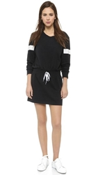 Norma Kamali Boyfriend Sweat Dress Black