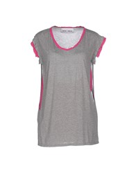 Brand Unique Topwear T Shirts Women Grey