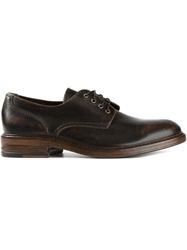 Buttero Lace Up Shoes Brown