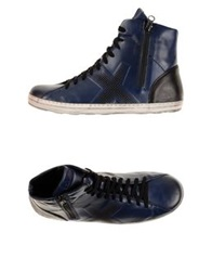 O.X.S. High Tops And Trainers Blue