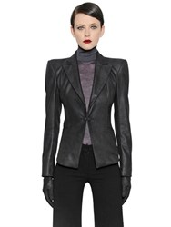 Gareth Pugh Nappa Leather Jacket