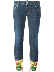 Dsquared2 'Sexy' Jeans Blue