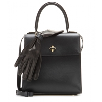 Charlotte Olympia Bogart Leather Tote Black