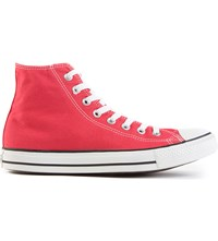 Converse All Star Red Canvas High Tops Red Canvas