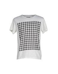 Mary Cotton Couture Topwear T Shirts Men Ivory