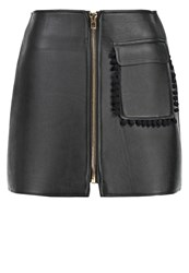 Sister Jane Occult Mini Skirt Black
