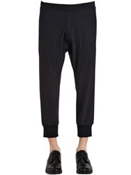 Neil Barrett Light Stretch Gabardine Jogging Pants
