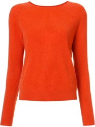 Vince Cashmere Jumper Red