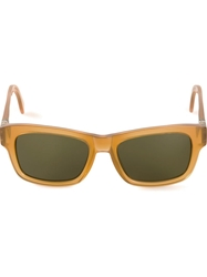 Mykita 'Herbie' Sunglasses Yellow And Orange