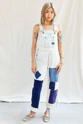 Urban Renewal Recycled French Workwear Patched Overall White