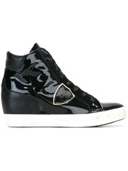 Philippe Model Hi Top Sneakers Black