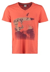 S.Oliver Print Tshirt Fusion Coral