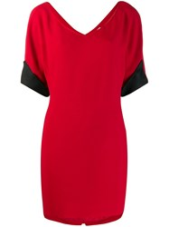 Gianfranco Ferre Vintage Mini T Shirt Dress Red
