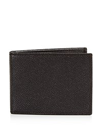 Bloomingdale's The Men's Store At Textured Leather Wallet 100 Exclusive Brown
