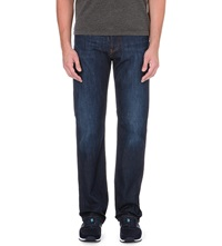 Armani Jeans Dark Blue Regular Fit Stretch Denim Jeans