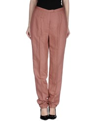 Antonio Fusco Trousers Casual Trousers Women Pastel Pink