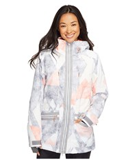 Roxy Torah Bright Ascend Jacket Frozen Mountain Women's Coat White