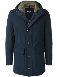 Blauer Padded Duffle Coat Blue