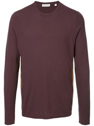Gieves And Hawkes Panelled Top Polyamide Viscose Red
