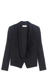 Paul And Joe Shawl Lapel Blazer Black