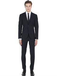 Manuel Ritz Slim Fit Stretch Wool Blend Suit
