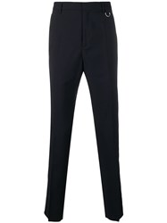 Valentino City Uniform Side Stripe Trousers Blue
