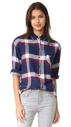 Rails Jackson Button Down Shirt Catalina Wine