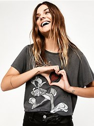Looney Tunes By Trunk For Free People Bugs Bunny Graphic Tee