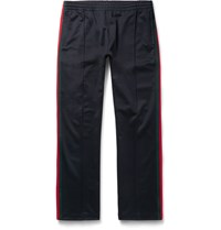Gucci Striped Tech Jersey Sweatpants Navy