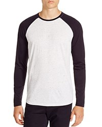 Vince Raglan Baseball Long Sleeve Tee