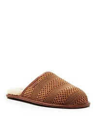 Ugg Woven Scuff Slippers Chestnut