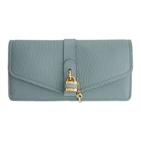 Chloe Blue Aby Long Continental Wallet
